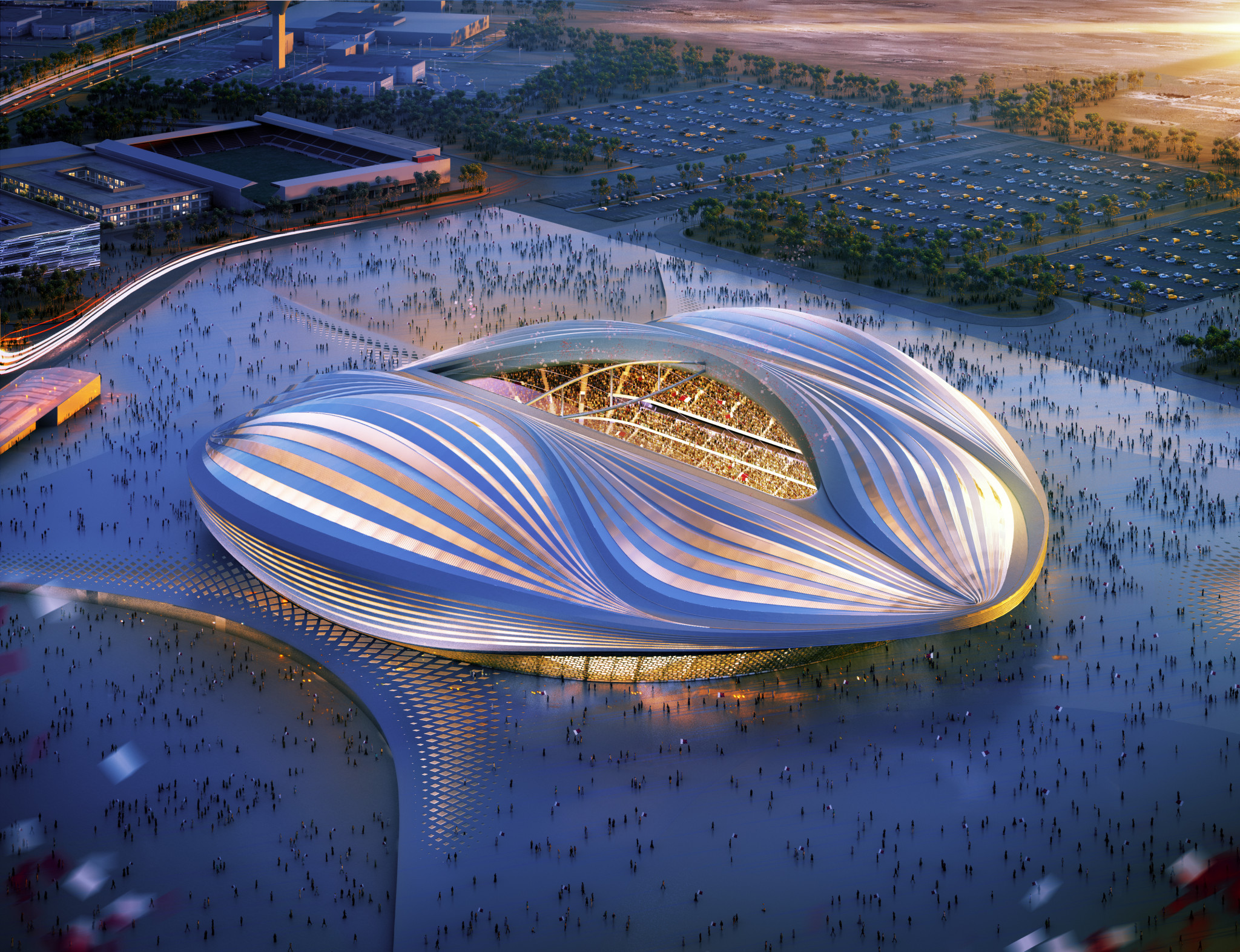 A report from FIFA's Human Rights Advisory Board has called on the worldwide governing body to strengthen efforts to combat workers' rights at Russia 2018 and Qatar 2022 World Cup construction sites ©Getty Images