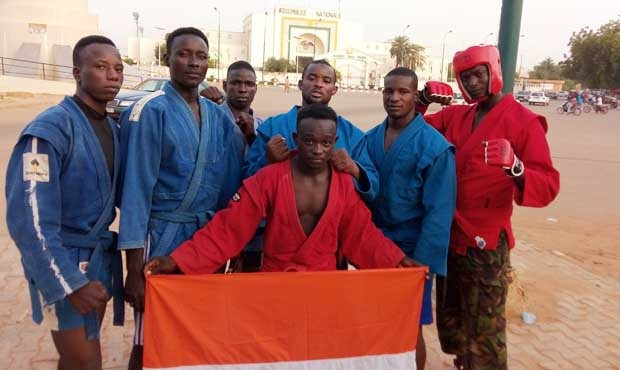 Niger are among the African nations competing at the ongoing World Sambo Championships in Sochi ©FIAS