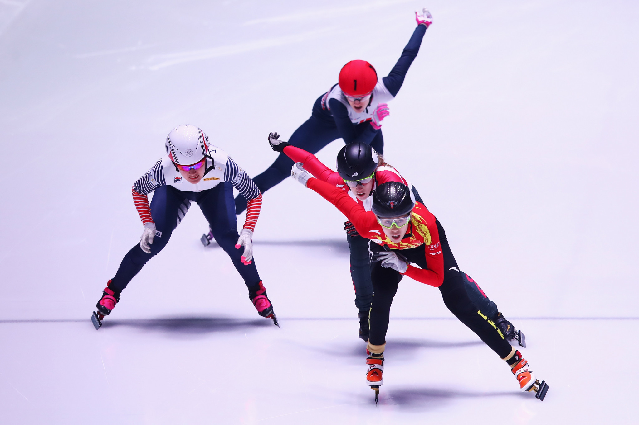 Olympic silver medallist disqualified in 1,000m at ISU Short Track World Cup