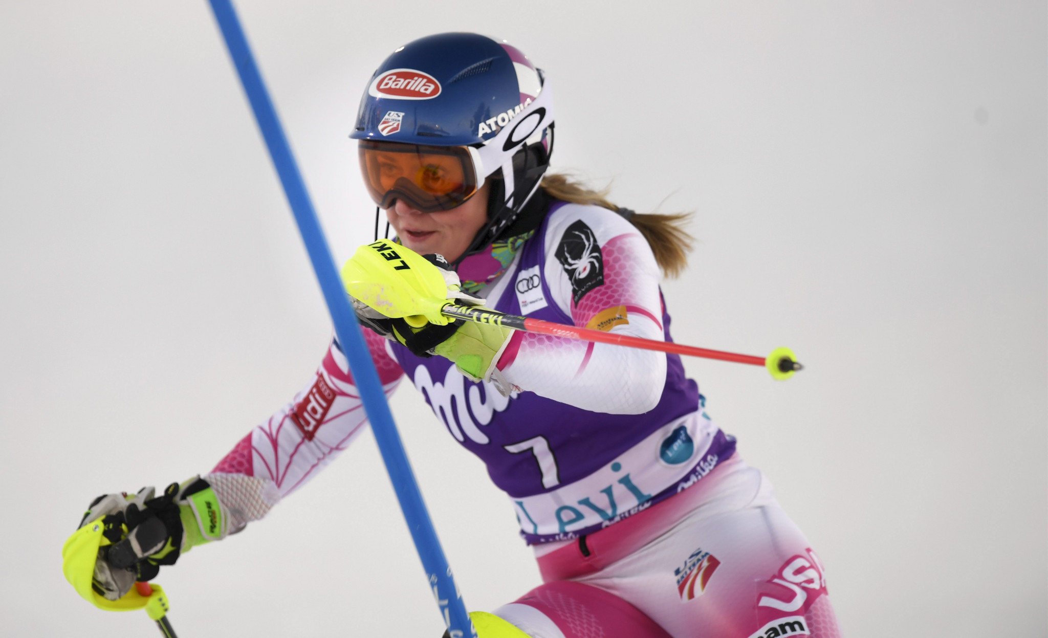 Slalom skiers prepare for FIS Alpine World Cup in Levi
