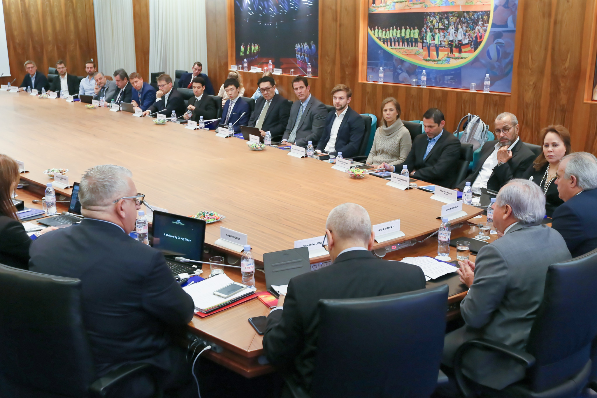 The calendar for the new beach volleybal season was announced following an FIVB World Tour Council meeting ©FIVB