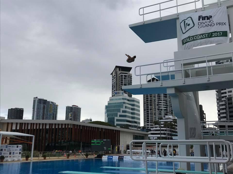 Chinese divers impress in FINA Diving Grand Prix semi-finals in Gold Coast