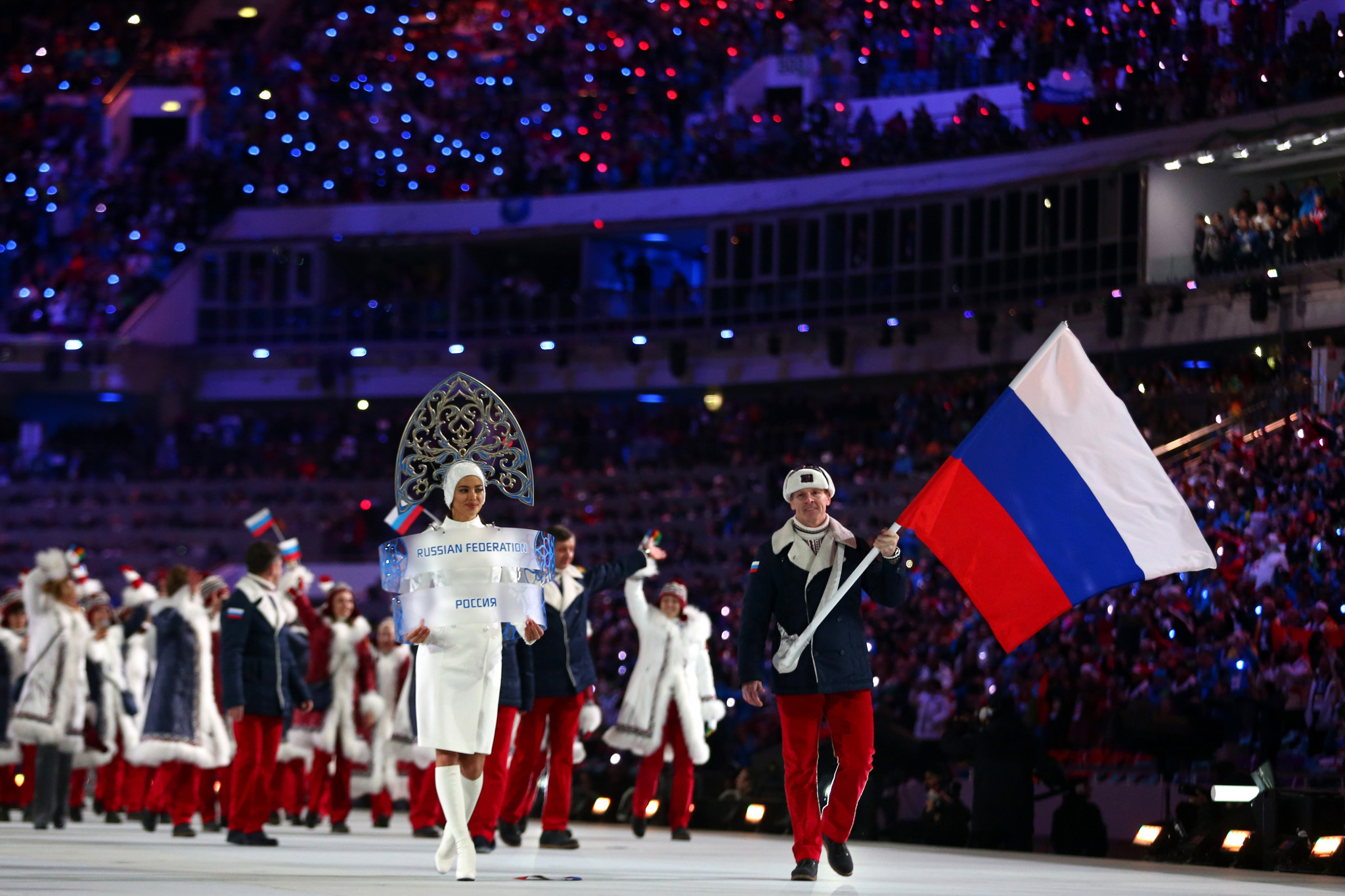 Leading Russian athletes including Sochi 2014 flagbearer Alexander Zubkov are under investigation ©Getty Images
