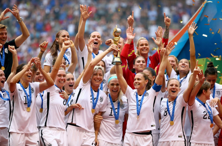 Women's football team dominate United States Olympic Committee monthly awards for July