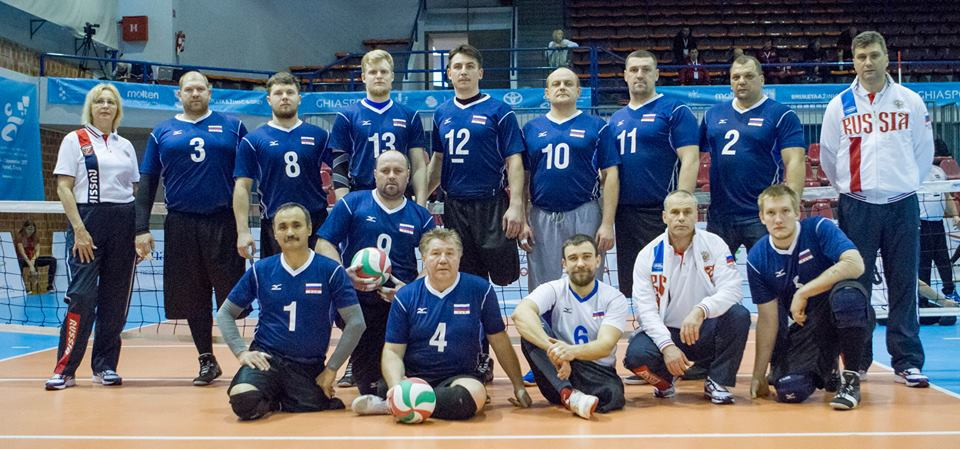Russia overcame defending champions Bosnia and Herzegovina to reach the men's final ©ParaVolley Europe Sitting Volleyball Championship