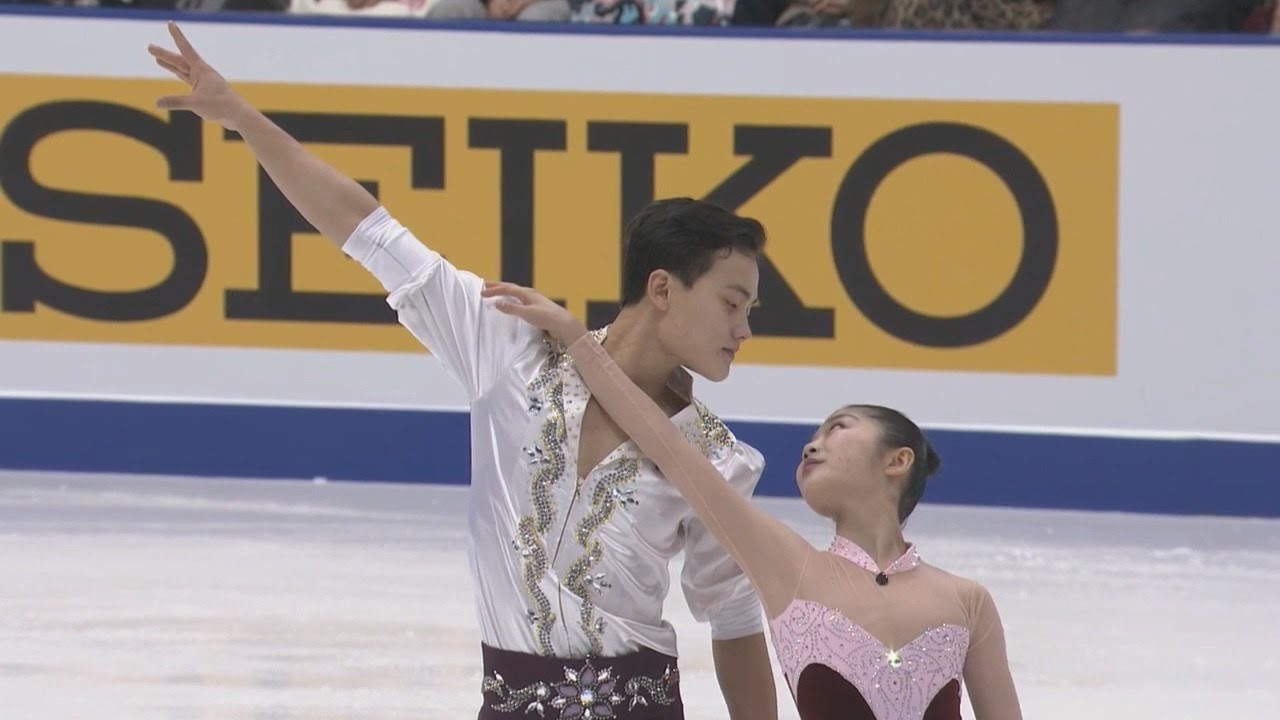 Figure skaters Ryom Tae-Ok and Kim Ju-sik have qualified for Pyeongchang 2018 but whether North Korea will compete or not remains a doubt ©YouTube