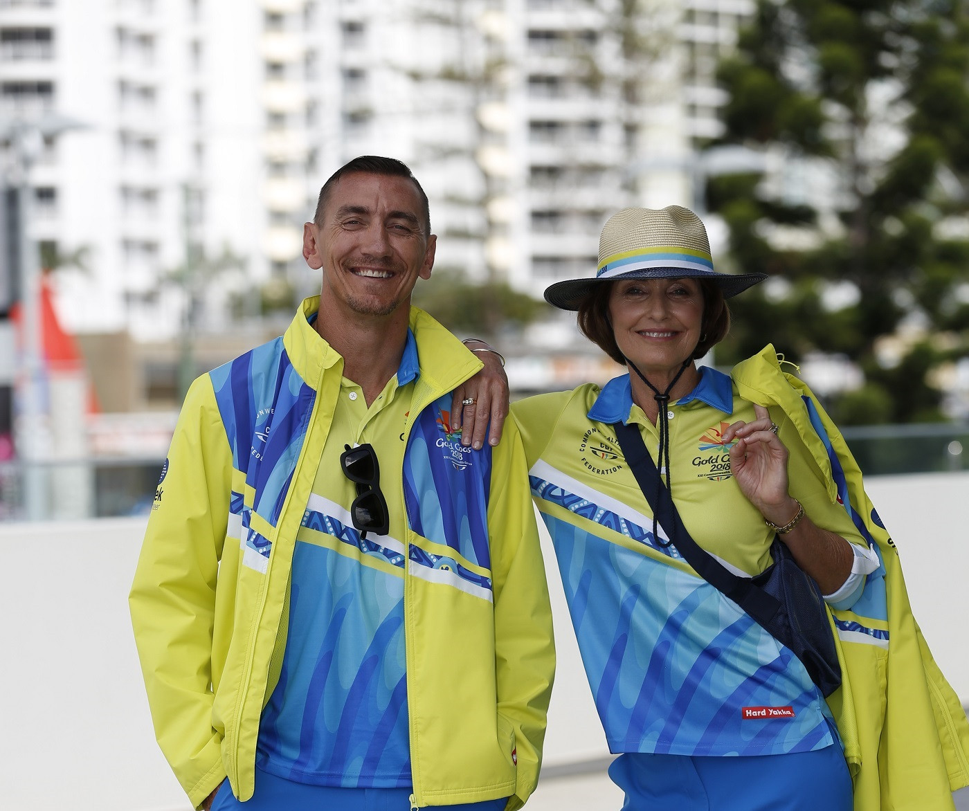 Gold Coast 2018 volunteers presented with uniforms