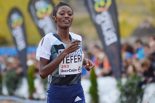 Senbere Teferi will hope to defend her women's title ©IAAF