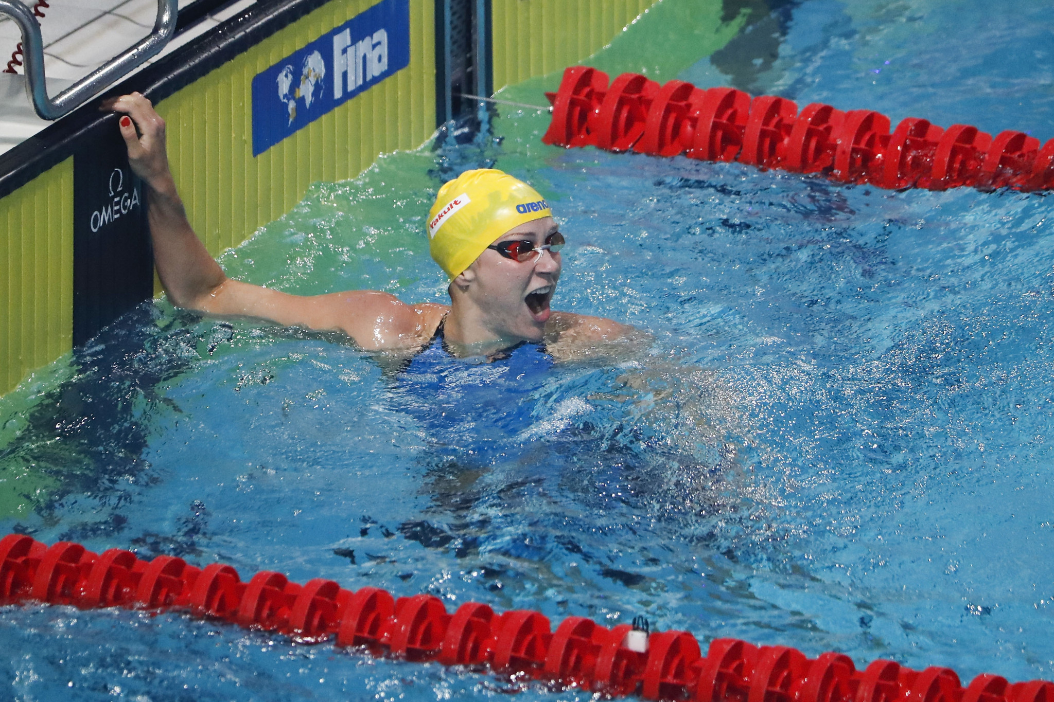 Sjöström secures two wins on final day of FINA World Cup in Beijing