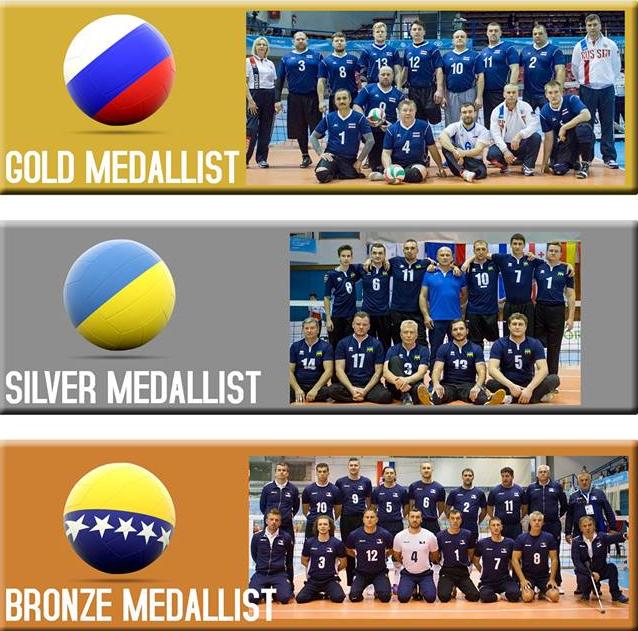 Russia beat Ukraine to men's European Sitting Volleyball Championships title