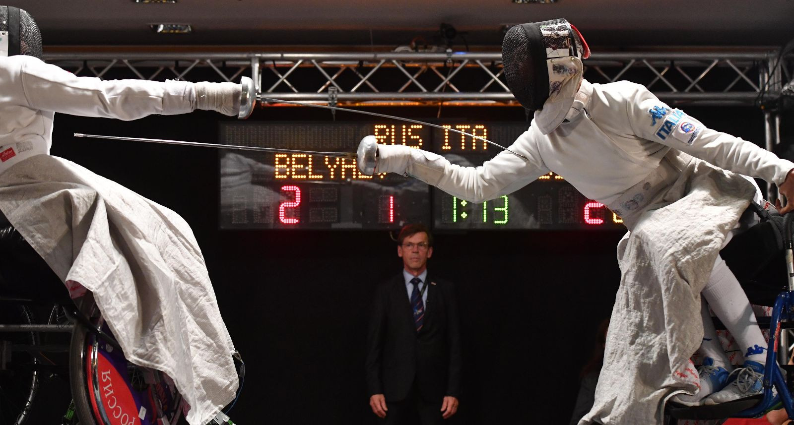 Ovsyannikova clinches second gold medal at IWAS Wheelchair Fencing World Championships
