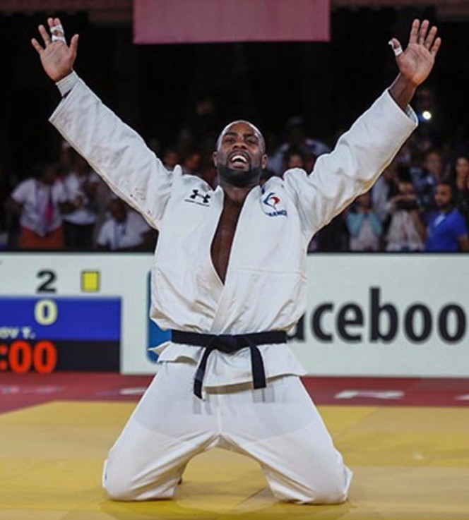 Magical Riner wins tenth judo world title in Marrakesh