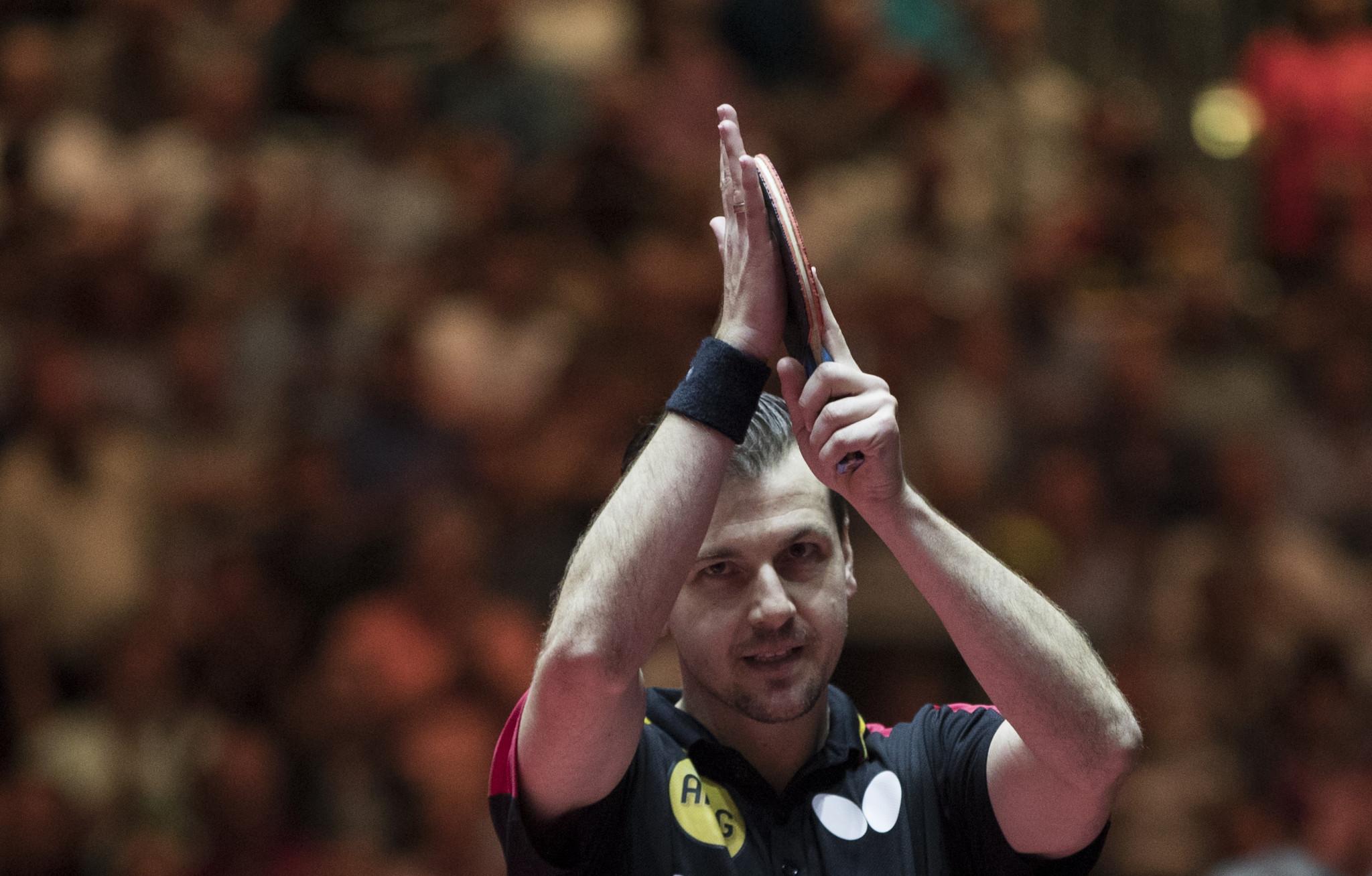 Boll keeps bid for fifth ITTF German Open title alive