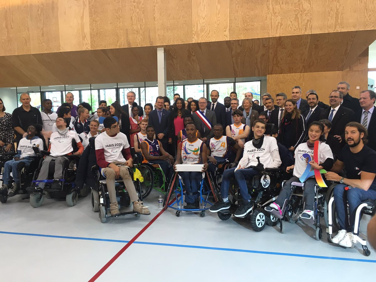 IPC President Andrew Parsons is excited about Paris hosting the 2024 Paralympic Games and what positive effect it could have on the city and its citizens ©Twitter