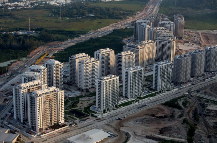 Rio 2016 Olympic Village workers living in conditions similar to
