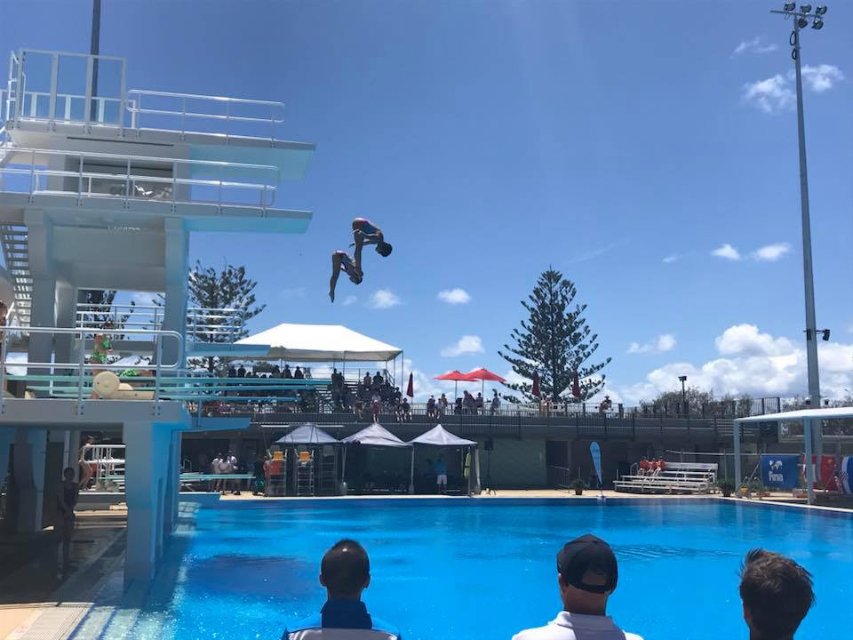 Five gold medals were earned on the final day of action in Gold Coast ©Facebook/FINA Diving Grand Prix Gold Coast