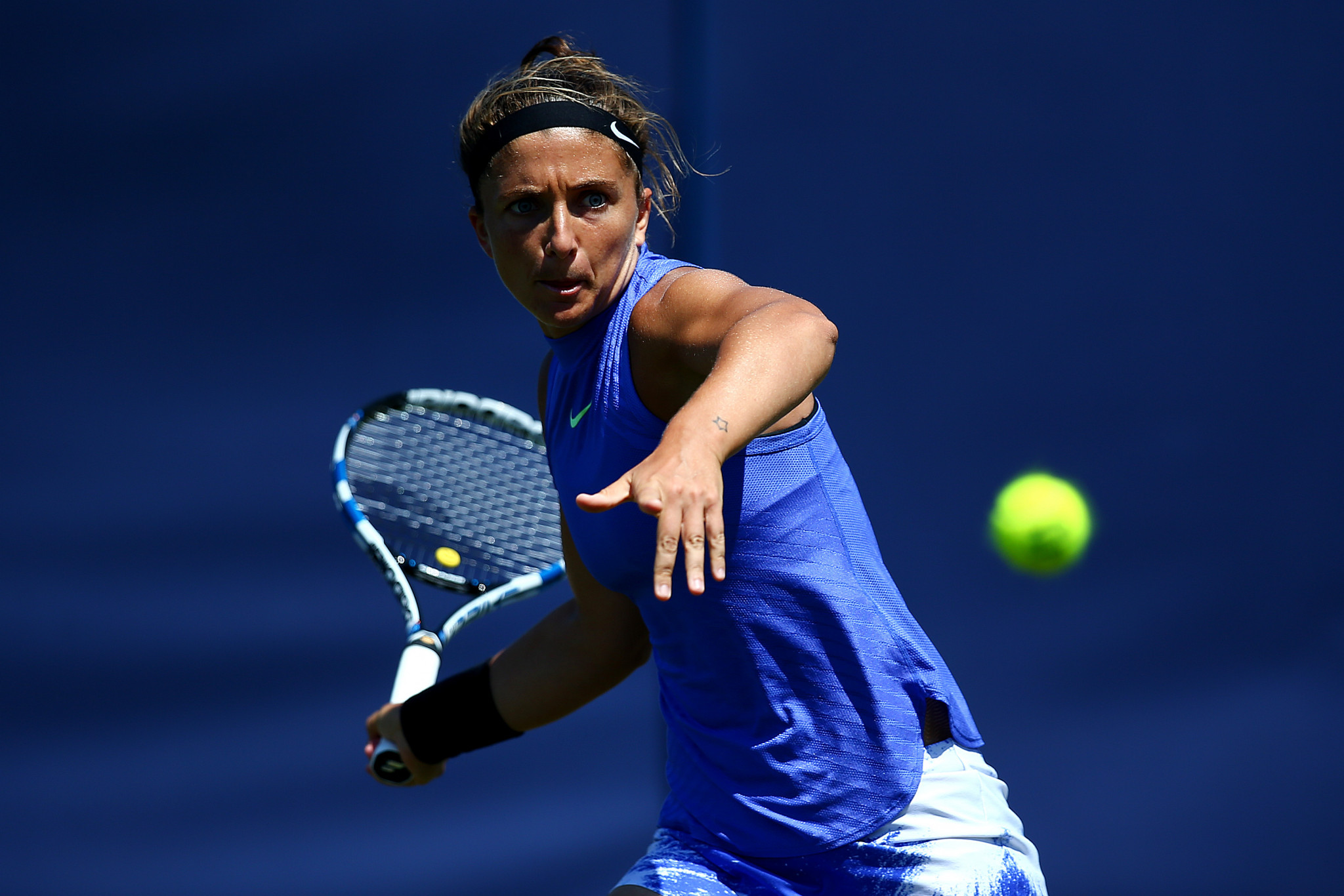 Sara Errani has attended a Court of Arbitration for Sport hearing ©Getty Images