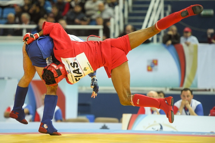 Sambo is being practiced worldwide ©FIAS