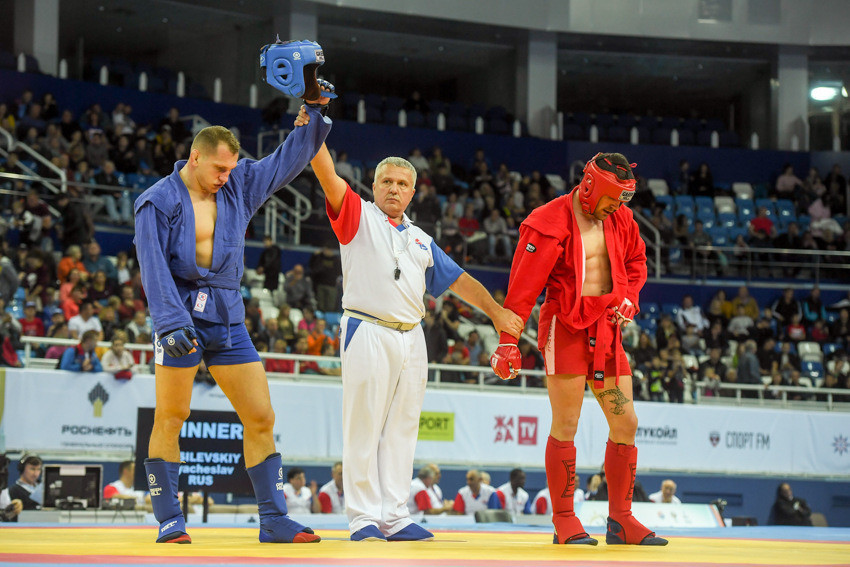Day three of 2017 World Sambo Championships