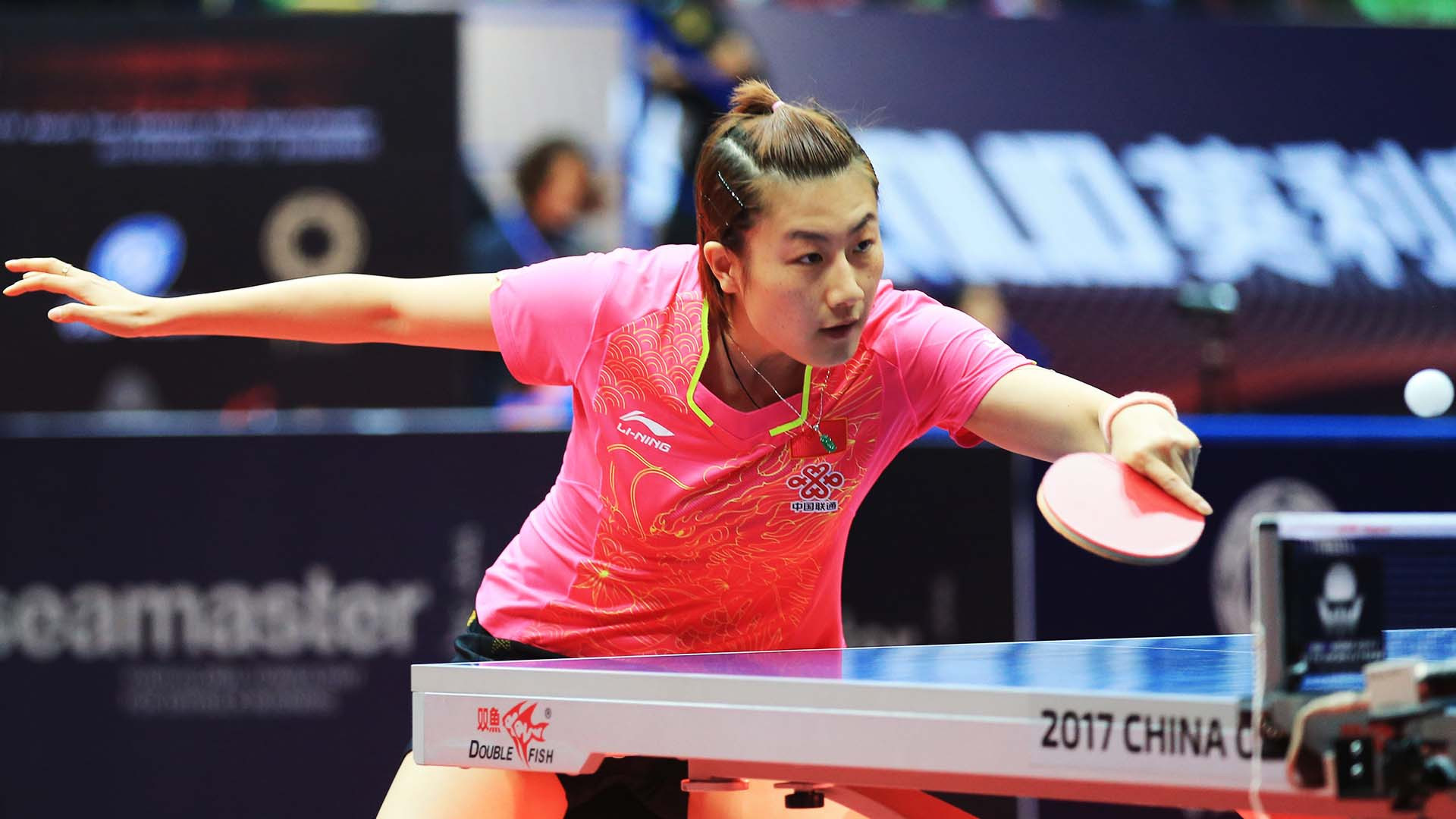 China's Ding Ning is looking to regain top spot in the women's world rankings ©ITTF/Deng Xiaozhao