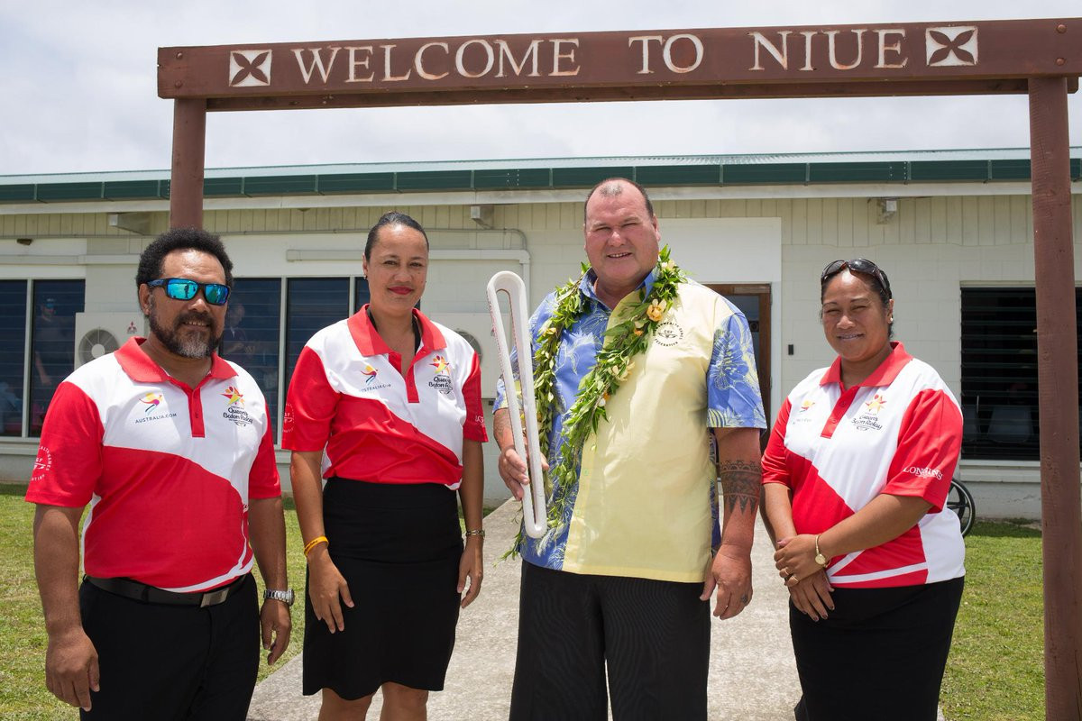 Niue and Cook Islands welcome Gold Coast 2018 Queen's Baton