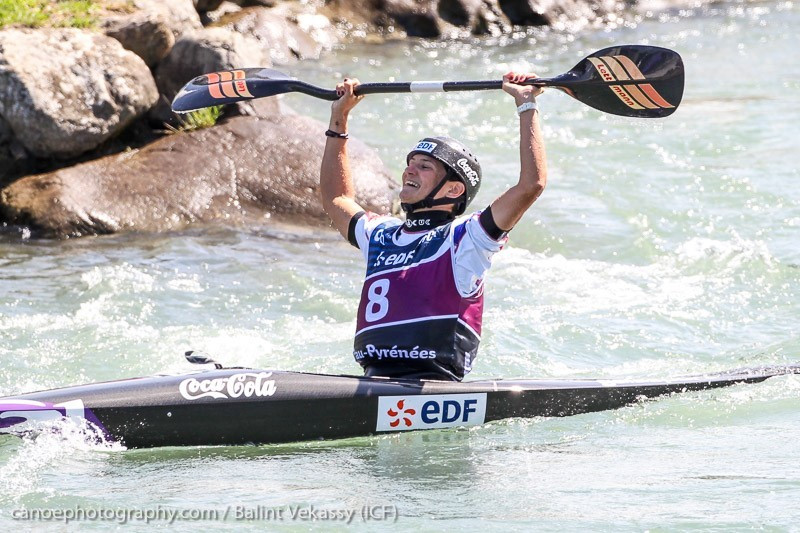 Olympic champion Fer ends medal drought in front of home crowd at ICF Slalom World Cup Final