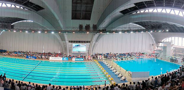 The Tokyo leg of the 2017 FINA World Cup will be held at the Tatsumi International Swimming Center ©FINA