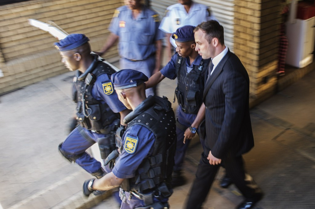 Prosecutors file papers calling for Pistorius murder charge