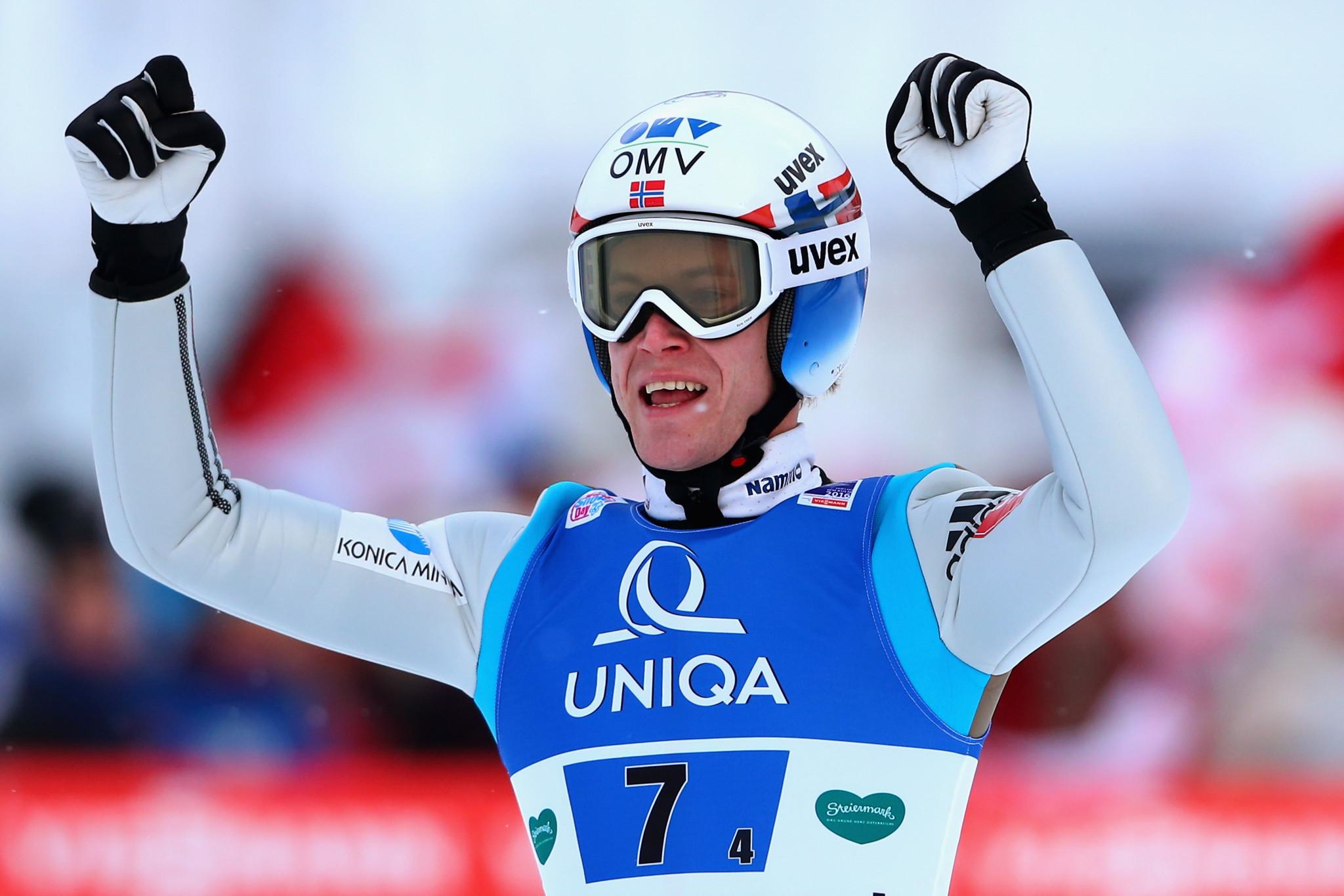 Ski jumper's Olympic dream in tatters after return of cruel injury jinx