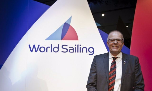 World Sailing President Kim Anderson has asked for Ukraine and Russia to settle their dispute over racing events in the Crimean Peninsula within 12 months ©World Sailing