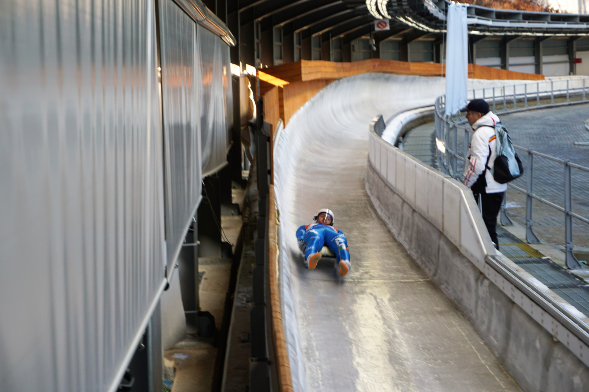 International Luge Federation hail successful training week on Pyeongchang 2018 track