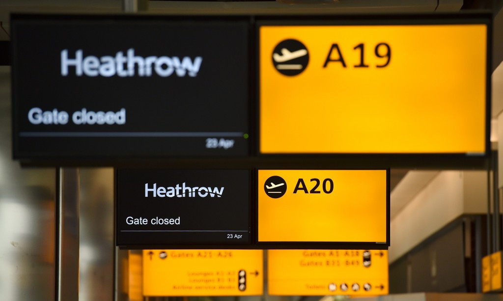 Heathrow Airport announced as official tournament provider to 2015 Rugby World Cup