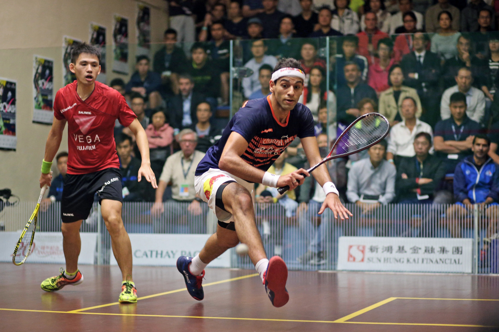 Elshorbagy edges past home favourite in PSA Hong Kong Open first round