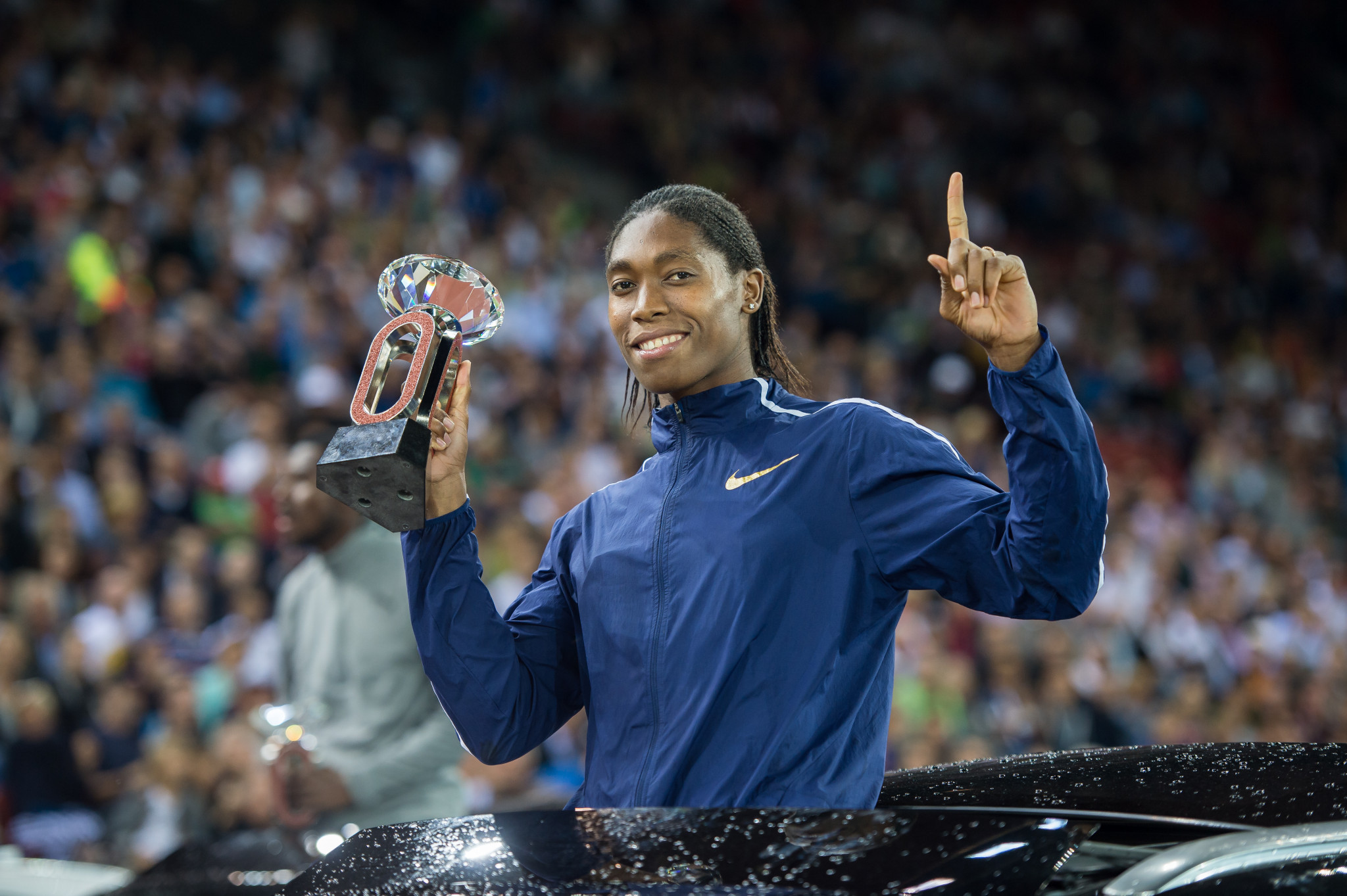 Caster Semenya will attempt an 800m and 1,500m double at Gold Coast 2018 ©Getty Images