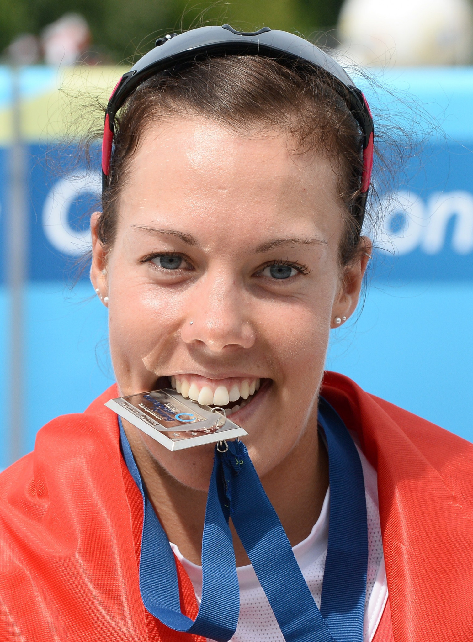Jeannine Gmelin, of Switzerland, is among the Finalists for the 2017 World Rowing Female Crew of the Year ©Getty Images