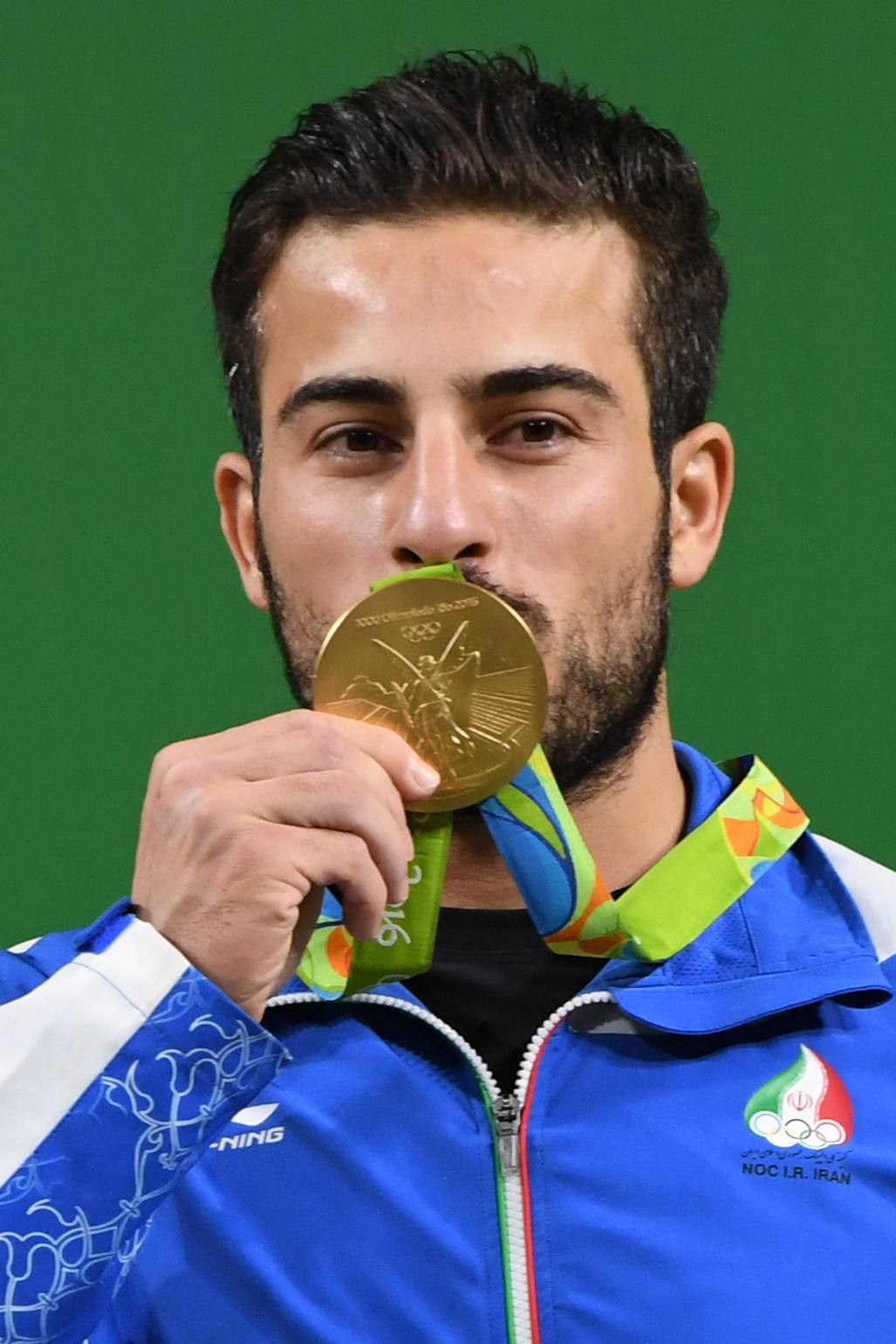Kianoush Rostami is to sell his Rio 2016 Olympic gold medal to help earthquake victims ©Getty Images