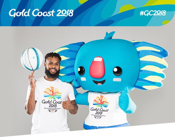Basketball star Patty Mills is among the ambassadors promoting Gold Coast 2018 products ©Gold Coast 2018