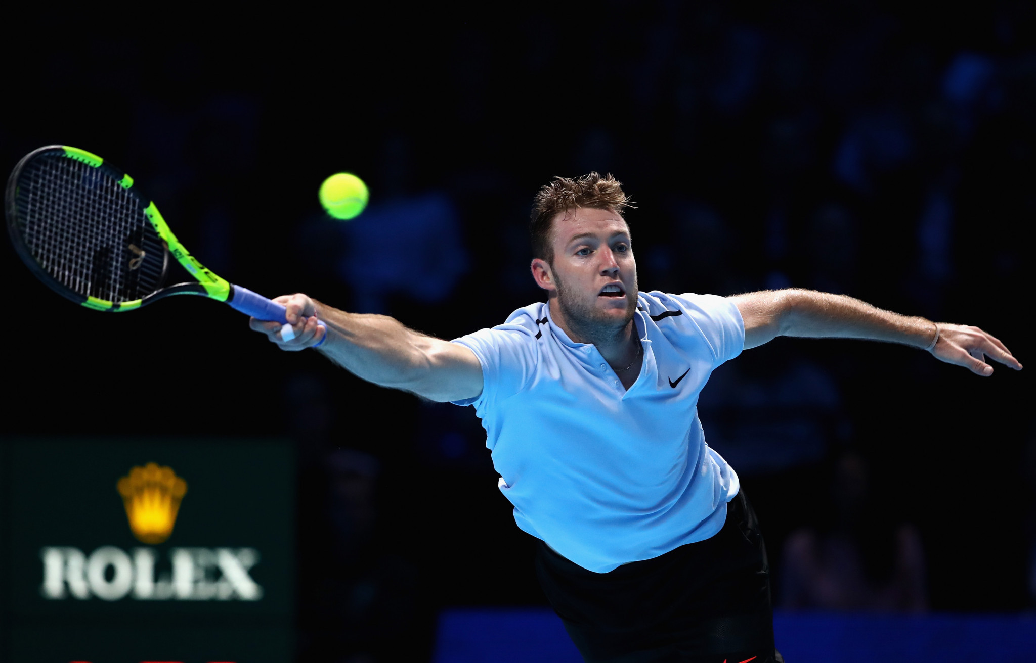 Jack Sock's next mission will be to defeat Germany's Alexander Zverev which will see him safely through to the last four in London ©Getty Images