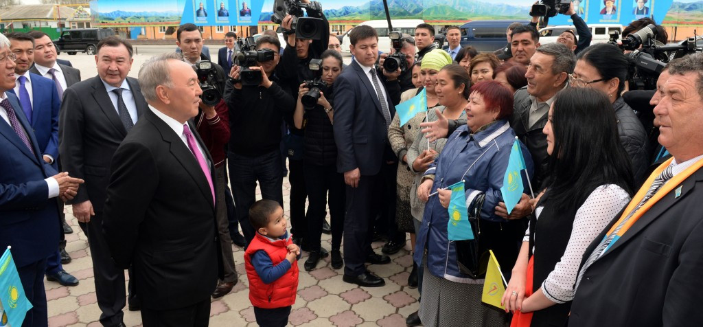Kazakhstan President Nursultan Nazarbayev has spoken out in support of Almaty's bid to host the 2022 Winter Olympics and Parlaympics during a visit to the region ©President of Kazakhstan