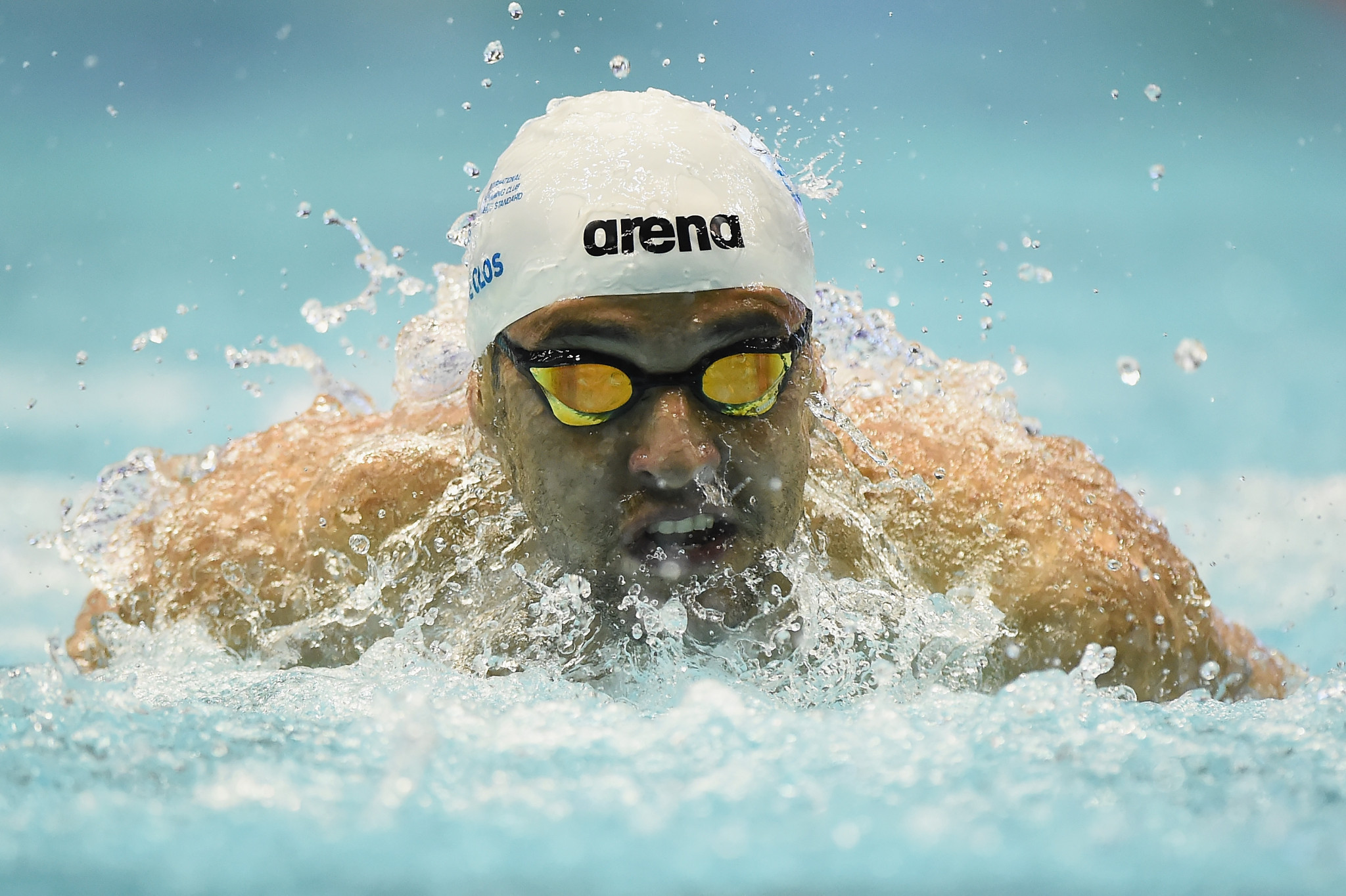 South Africa's Chad Le Clos took another huge step towards the overall title with victory in the men's 200m butterfly ©Getty Images