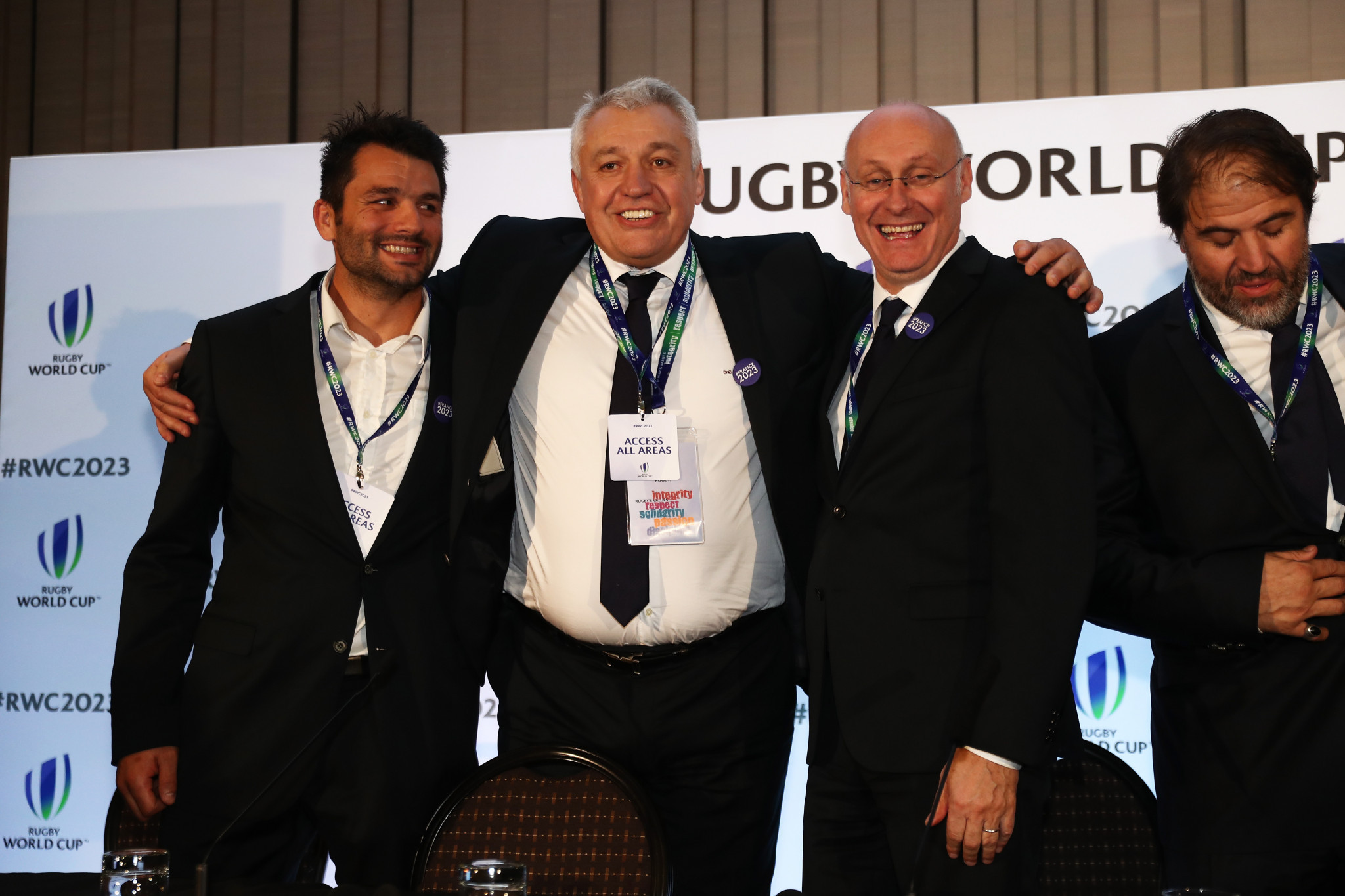 France stun South Africa to be named hosts of 2023 Rugby World Cup