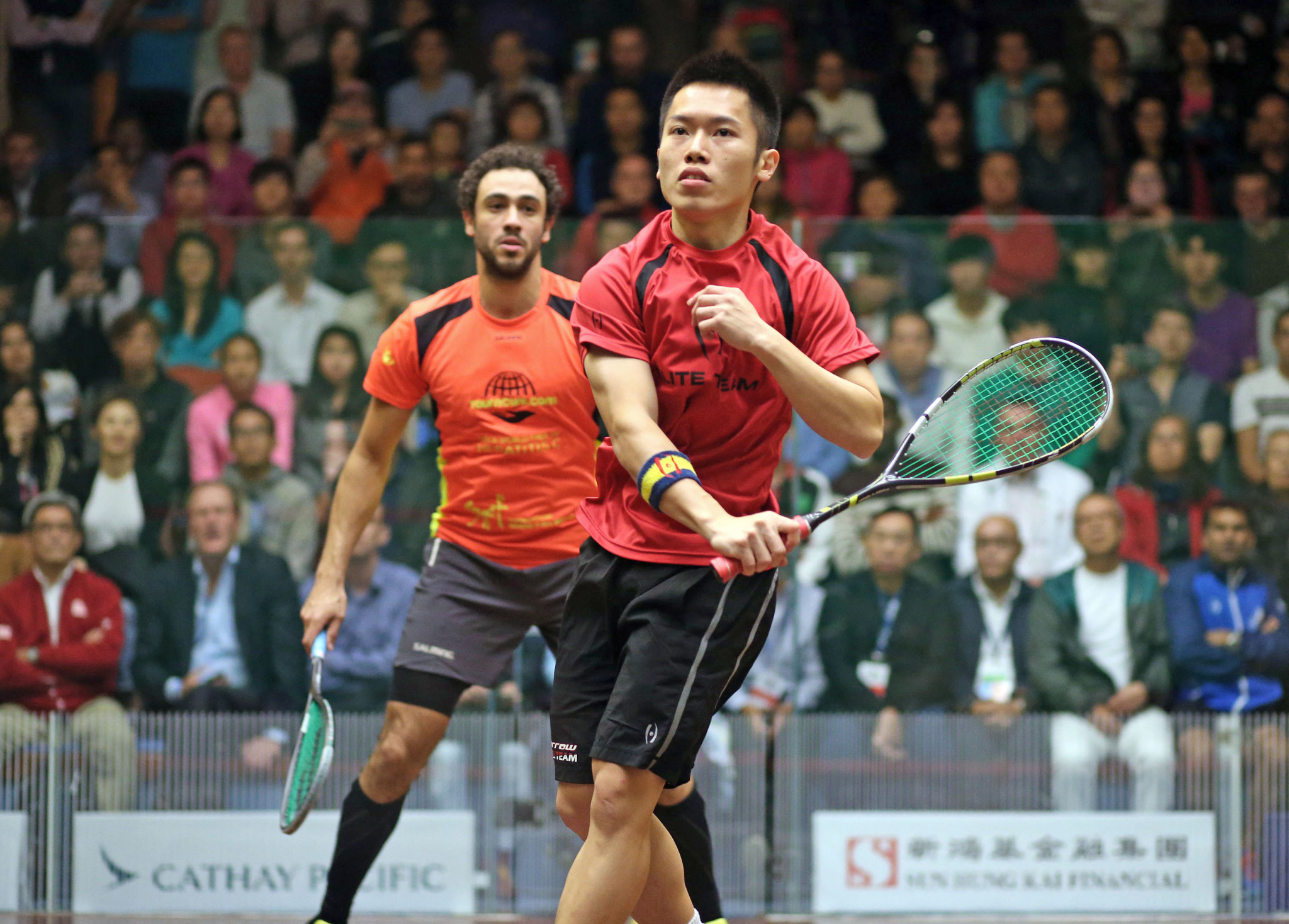Wildcard Au stuns defending champion Ashour at PSA Hong Kong Open