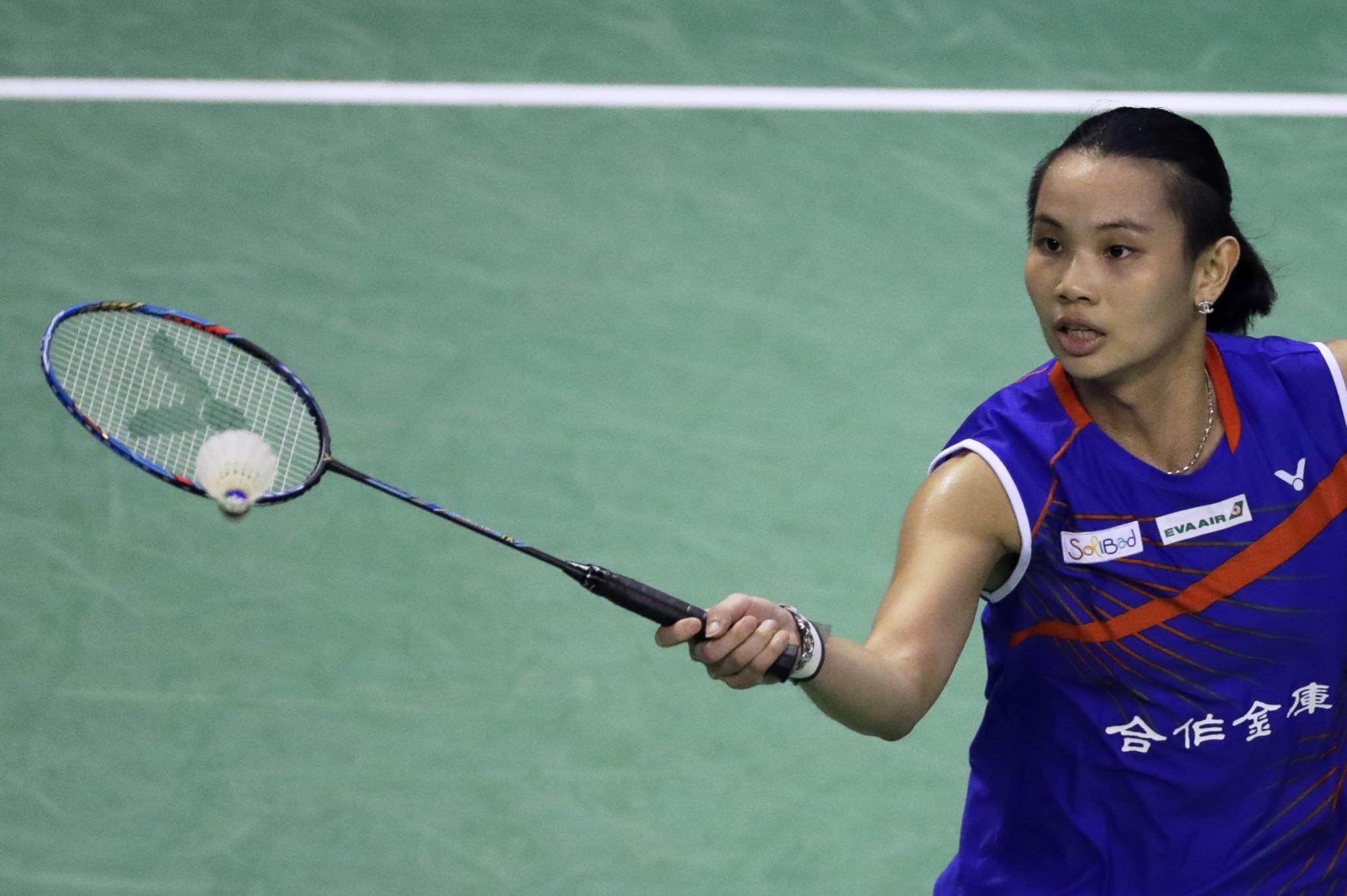 Women's top seed Tai Tzu-ying progressed to round two ©Getty Images
