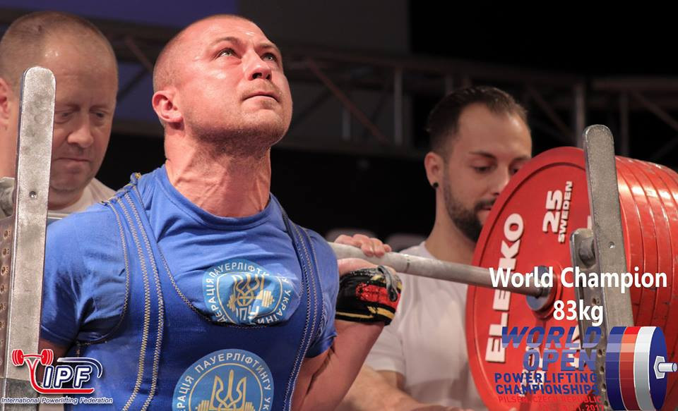 Naniev triumphs as Ukraine clinch double gold at IPF Open World Championships