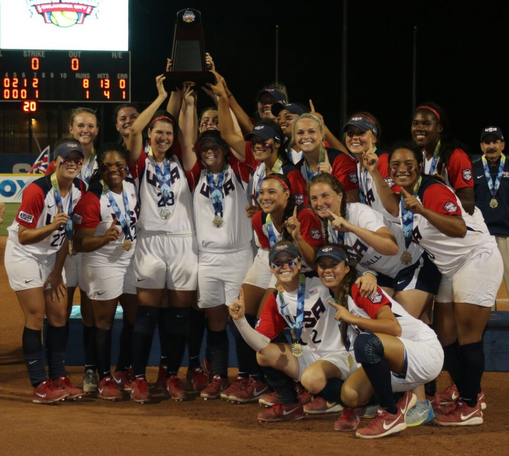 United States earn comfortable victory over Japan to win Under-19 Junior Women's Softball World Championships