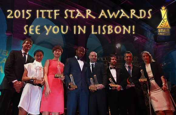 Lisbon announced as hosts of 2015 ITTF Star Awards