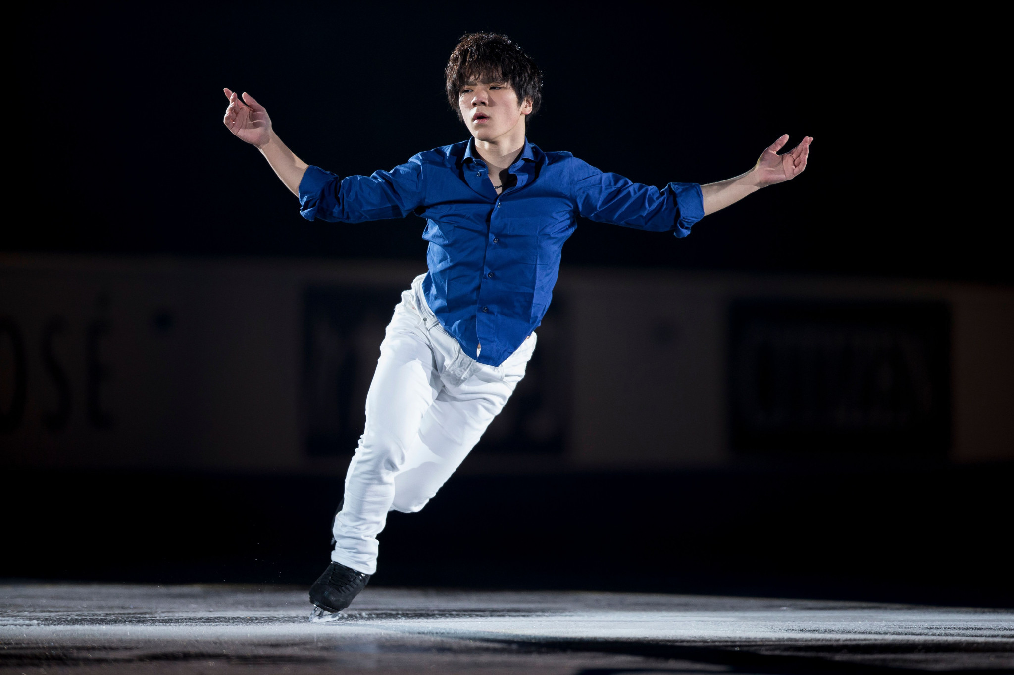 World Championships silver medallist Shoma Uno of Japan is another skater hoping to secure a place at the season-ending Final ©Getty Images
