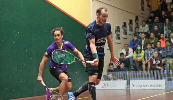 Gaultier battles through to quarter-finals at PSA Hong Kong Open