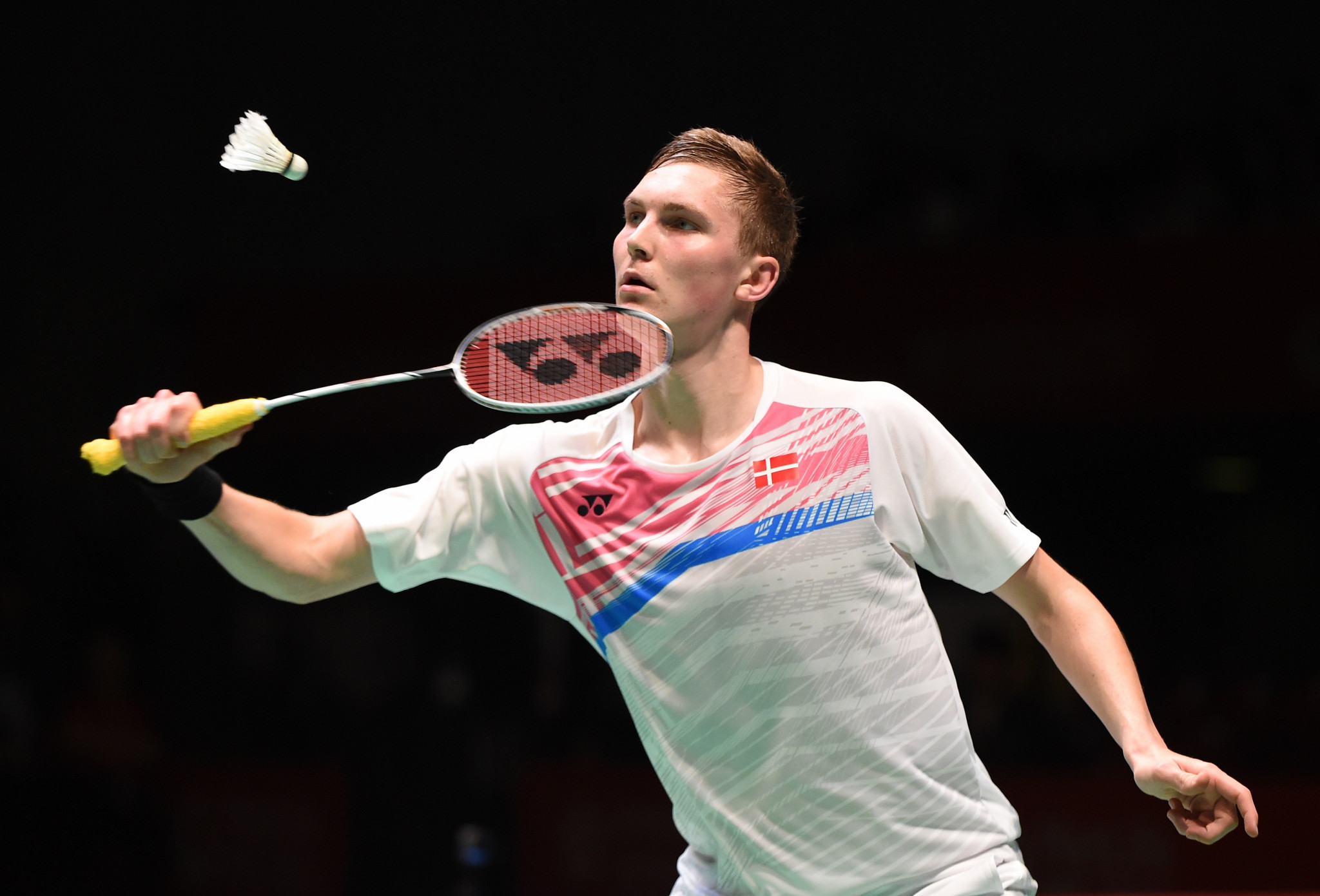Viktor Axelsen is the fourth seed in the men's singles ©Getty Images