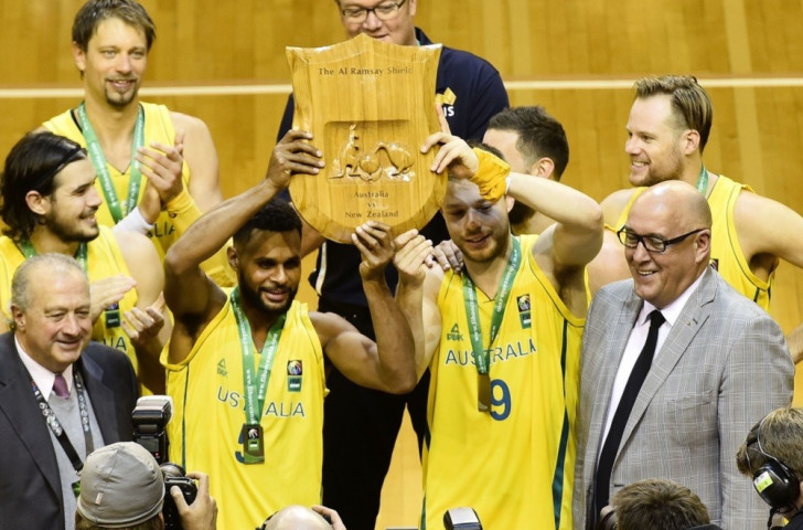 Australia clinch Rio 2016 berth with second victory over New Zealand at FIBA Oceania Championships